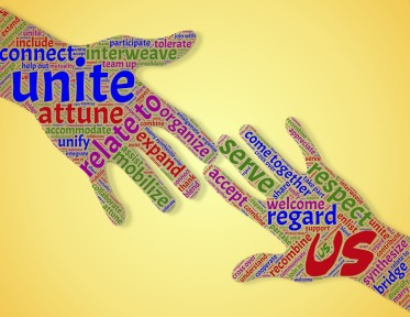 Reaching Out Hands Assist Community Unity Union