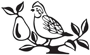 01 partridge pear tree